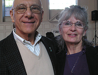 Janet Pfeiffer with Dr. Bernie Siegel